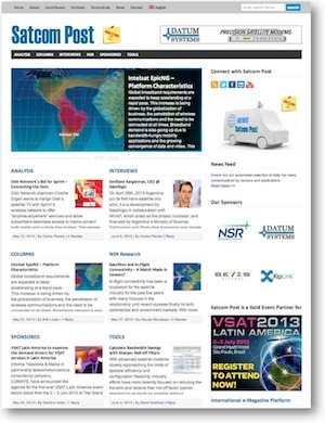Satcom Post e-Magazine