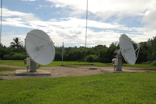 O3B Cook Islands Antennas