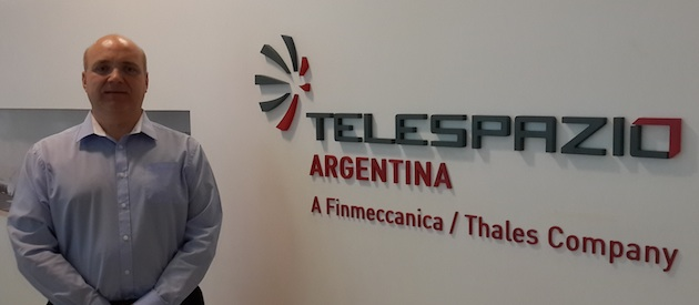 Pablo Recalt – Head of Business Development at Telespazio Argentina